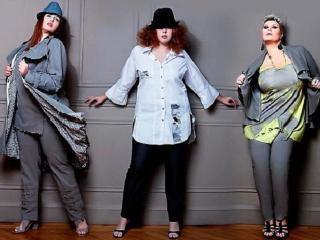 Наряды для полных женщин. Модные тенденции
