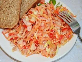 Салаты из моркови. Постные рецепты вкусных салатов