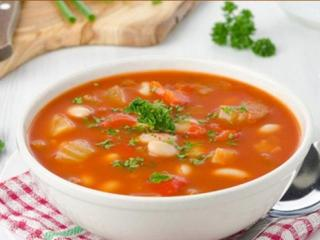 Томатный суп со сладким перцем. Оригинальные рецепты первых блюд