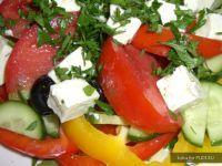 Вкусный рецепт салата. Овощная закуска из средиземноморской кухни