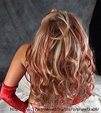 Покраска волоса в чрный цвет натуральными красителями