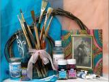 Рукоделие для дома: роспись по стеклу