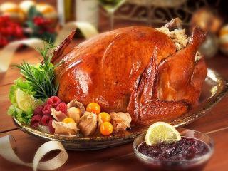 Запеченая индейка с соусом из крыжовника. Праздничные рецепты к Рождеству и Новому году