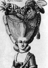 прически 17 века картинки