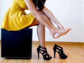 Высокие каблуки и плоскостопие