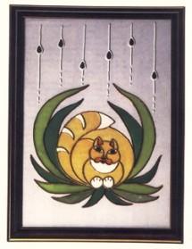 Рукоделие: роспись по стеклу