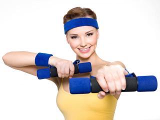 Комплекс физических упражнений с отягощением