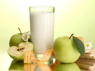 Диета на яблоках и кефире