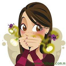запах изо рта настойка