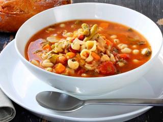 Минестра - итальянский суп